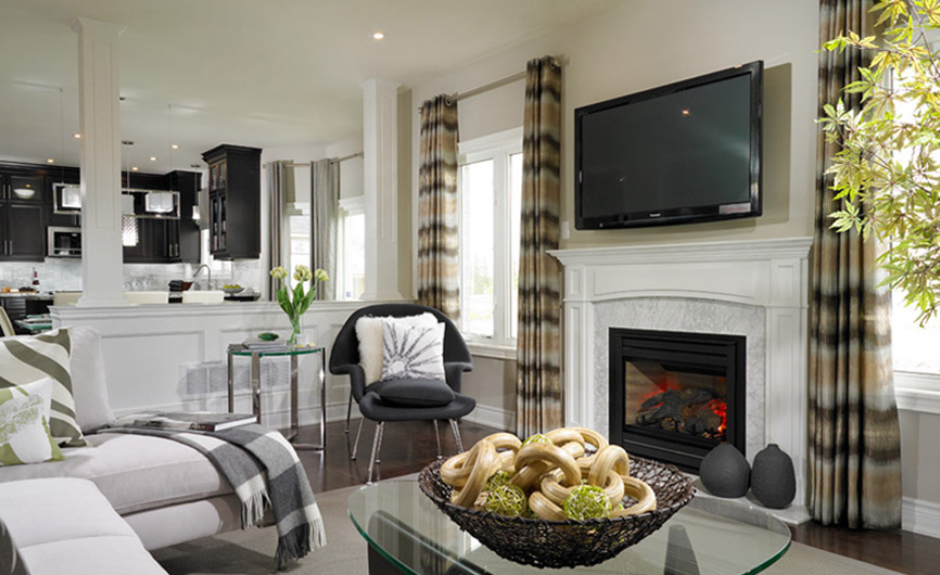 Upgrades for your new home that pay on resale royalpark for Living room upgrades